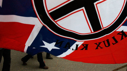 ​Outrage in N. Ireland as Ku Klux Klan flag raised in Belfast