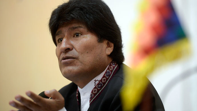 Morales: Obama can invade any country for US energy needs