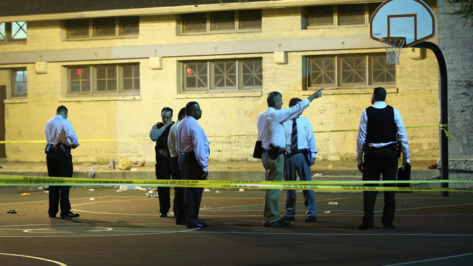2 gunmen open fire at Chicago basketball court, at least 13 wounded, incl 3yo