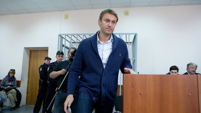 Top opposition figure Navalny dodges prison with 5yr suspended sentence