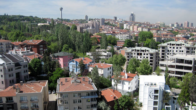 A view of Ankara from the Chankaya presidential complex.(RIA Novosti / Aleksandr Yurev)