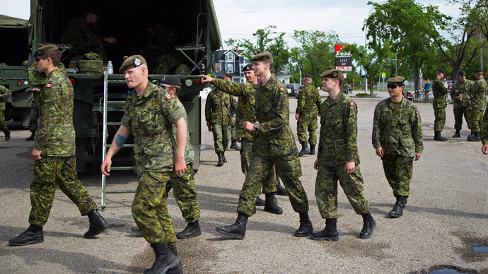 Wounded Canadian veterans pressed to not criticize military on social media