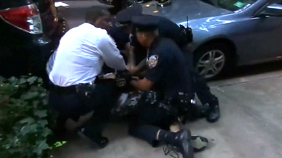 New York City police and firefighters engage in massive fistfight (VIDEO)