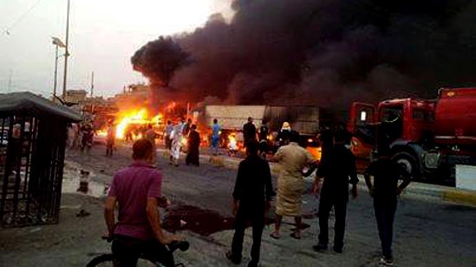 14 car bombs in Baghdad kill at least 54