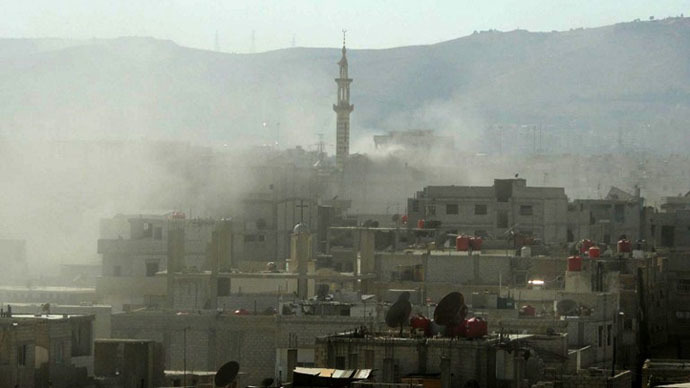 Mortar shell hits Russian embassy compound in Damascus, injures 3