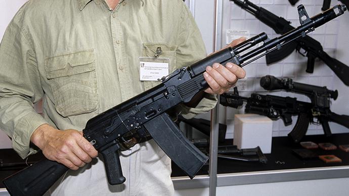 AK-109 Kalashnikov assault rifle. (RIA Novosti / Vladimir Vyatkin)