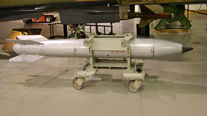 Aging US atomic bomb caught in strategic tug-of-war