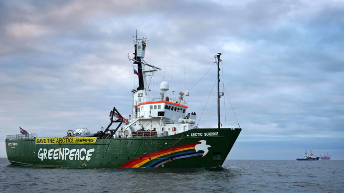 Russia charges all Arctic Sunrise Greenpeace activists with piracy over oil rig protest