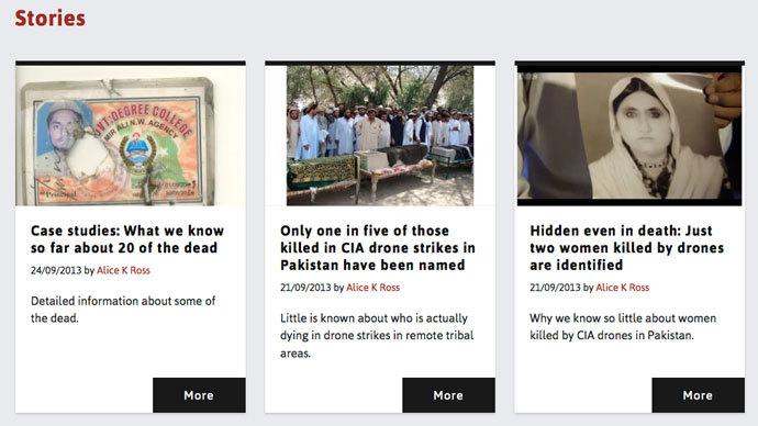 Screenshot from thebureauinvestigates.com