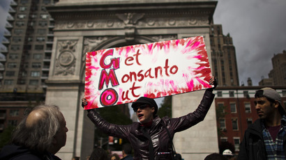 'No Monsanto!': World marches against GMO food