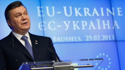 Between two stools: Ukraine says EU trade deal certain, Russia–led union also an option