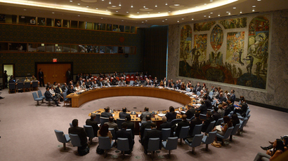 UN Security Council meeting, at the United Nations headquarter in New York (AFP Photo / Emmanuel Dunand)