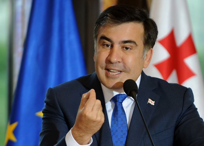 Mikhail Saakashvili, President of Georgia (AFP Photo / Vano Shlamov)