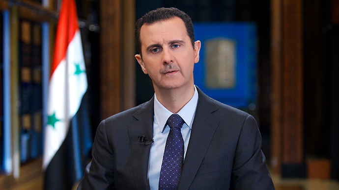 Assad dubs chemical weapons 'burden'