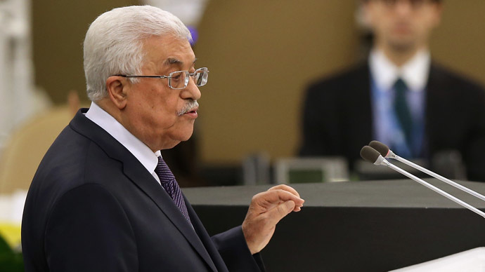 'Last chance': Abbas urges UN to pressure Israel over settlements