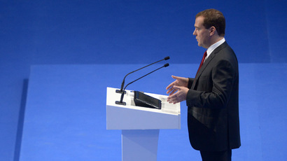 Russia pivots towards industry, not reliant on oil - Medvedev