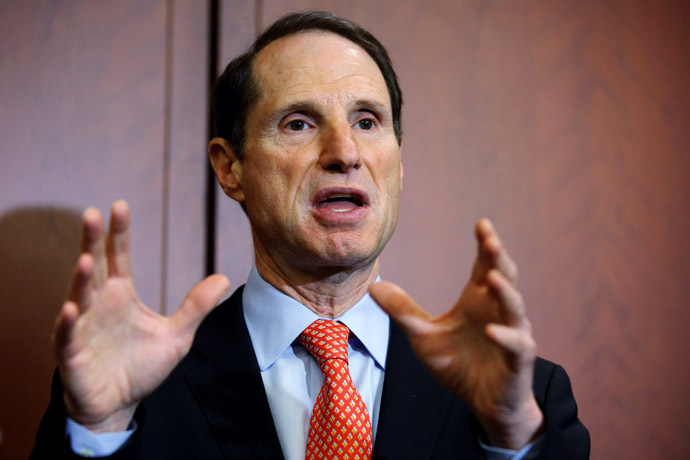 US Sen. Ron Wyden (D-OR) (Chip Somodevilla/Getty Images/AFP)