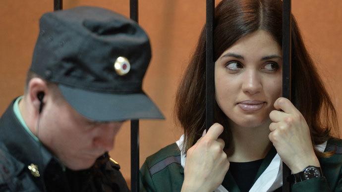 Pussy Riot member Nadezhda Tolokonnikova.(RIA Novosti / Maxim Blinov)