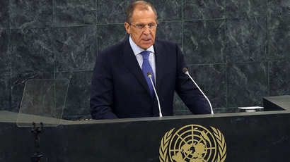 Lavrov: UN Syria resolution holds both sides accountable for any chem weapons use