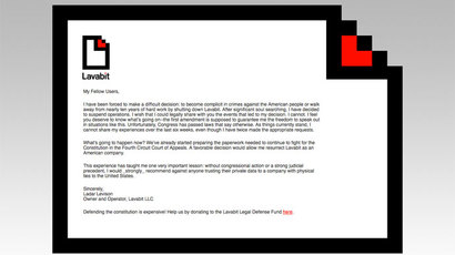 Snowden's email service Lavabit consistently denied US govt access despite intimidation