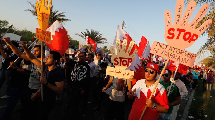 Bahrain prince meets opposition leader to defuse tensions