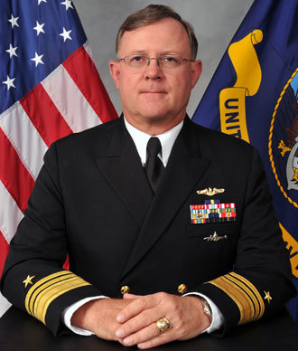"Vice Admiral Timothy M. ""Tim"" Giardina.(Photo from stratcom.mil)"