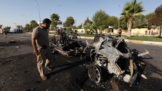 29 killed, incl 12 children in string of suicide bombings in Iraq