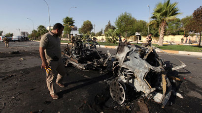 14 car bombs in Baghdad kill at least 54