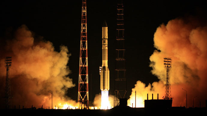 Russia's Proton rocket successfully lifts off from Baikonur