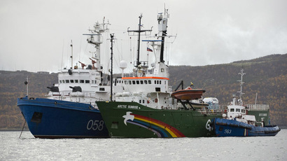 Greenpeace activists charged with piracy over Russian oil rig protest