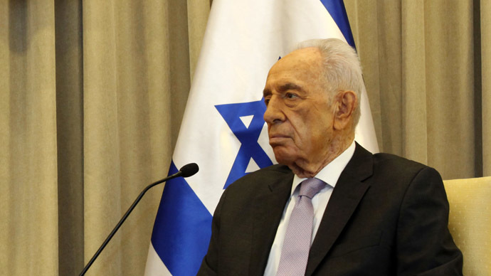 Israeli President Shimon Peres (AFP Photo/Gali Tibbon)