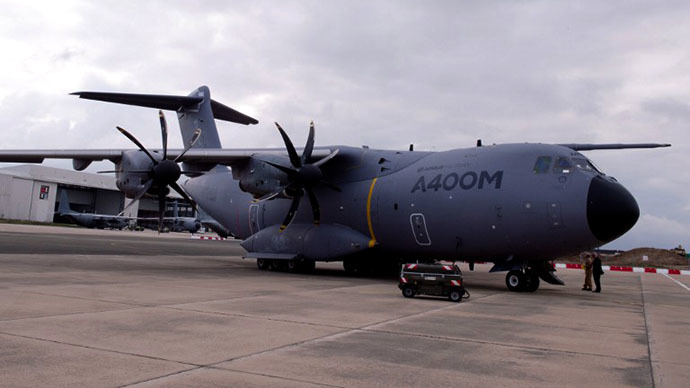 Airbus delivers first A400M transport plane to France after years of delays, cost overruns