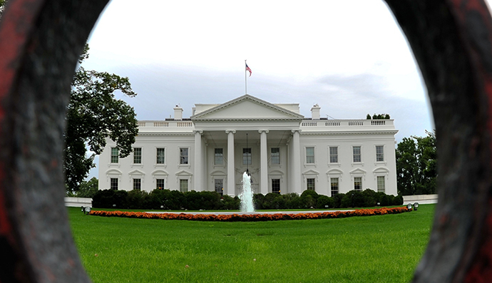 The White House is seen in Washington, DC. (AFP Photo / Karen Bleier)