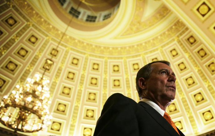 U.S. Speaker of the House Rep. John Boehner (Alex Wong / Getty Images / AFP)