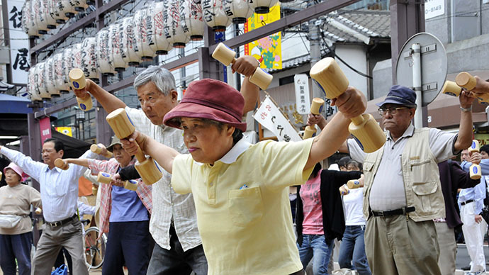 World faces major challenges as old-age population balloons - global report
