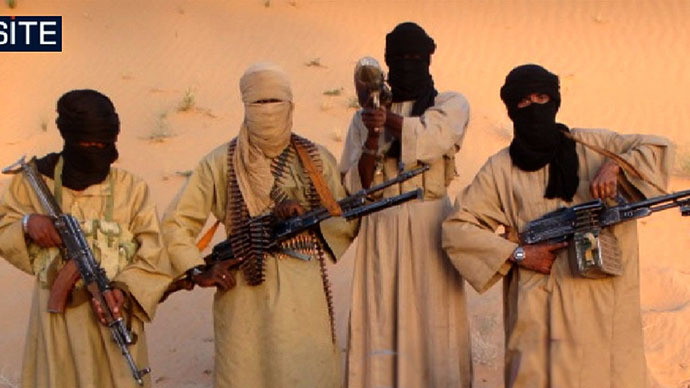 Fighters of Al-Qaeda in the Islamic Maghreb (AQIM) (AFP Photo)