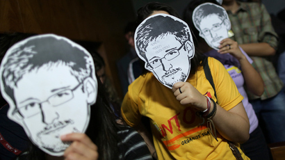 Snowden urges EU parliament to protect whistleblowers