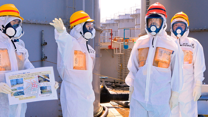 4 tons of possibly contaminated water leaks at crippled Fukushima plant