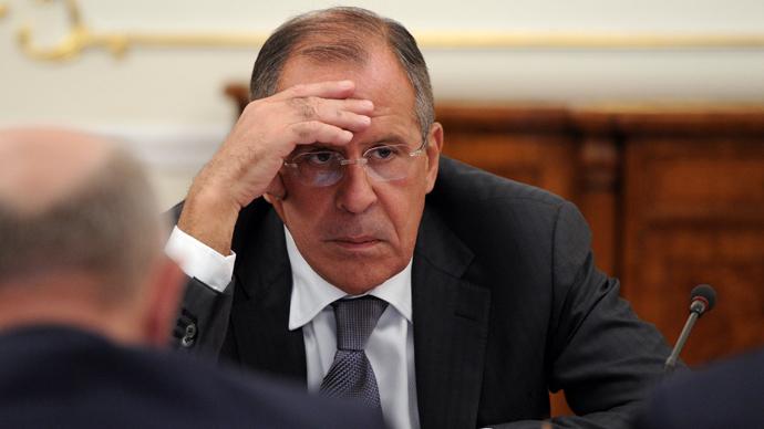 Russian Foreign Minister Sergey Lavrov (RIA Novosti / Michael Klimentyev)