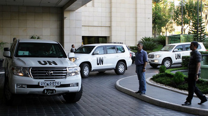 International disarmament inspectors start mission in Damascus