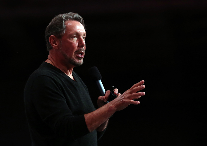 Larry Ellison (Justin Sullivan / Getty Images / AFP)