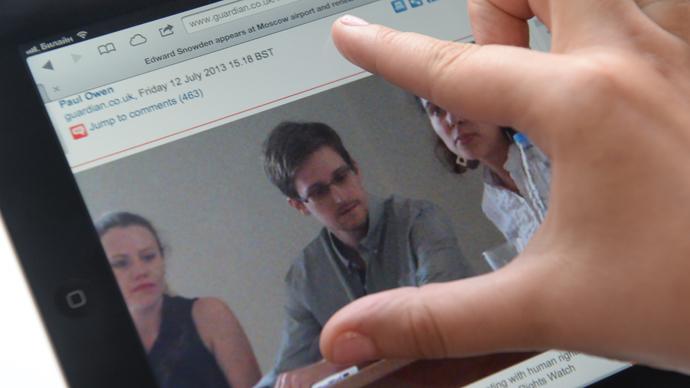Edward Snowden (RIA Novosti / Pavel Lisitsyn)