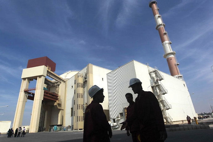 The reactor building at the Russian-built Bushehr nuclear power plant in southern Iran (AFP Photo / Majid Asgaripour)