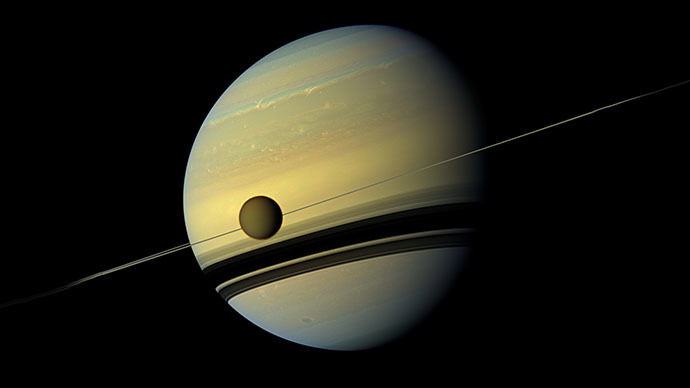 NASA's Cassini finds 'plastic' on a Saturn moon