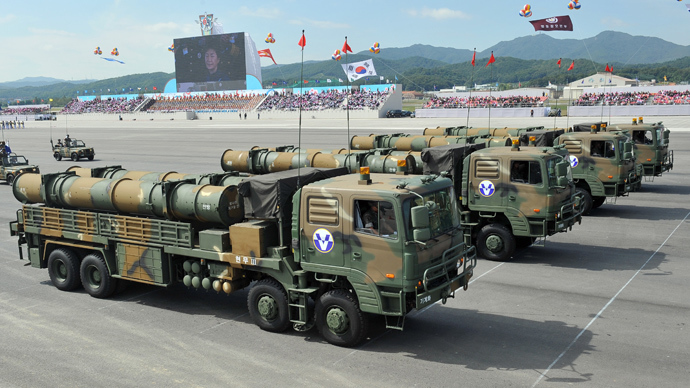 Seoul shows off anti-North domestic missiles, gets more US protection