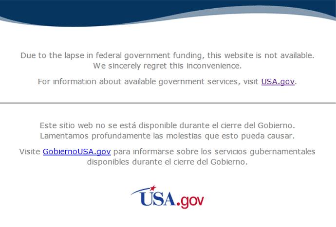 Screenshot from nasa.gov