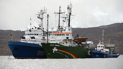 Suspected drugs aboard Greenpeace Arctic Sunrise ship - Russian investigators