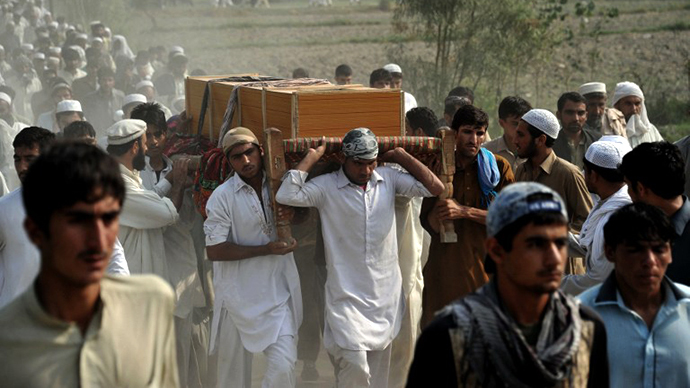 Five civilians incl three children killed in NATO Afghan airstrike