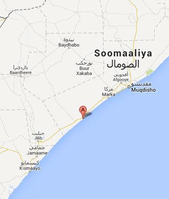 (A) Baraawe.(Google map)