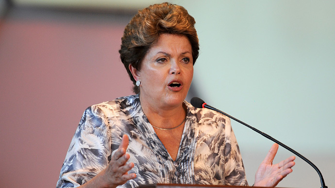 Brazil's Rousseff on Canada leak: US and allies must stop spying 'once and for all'